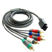 AUDIO VIDEO AV COMPONENT CABLE FOR NINTENDO WII HDTV AV