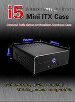 mini aluminum case with 12V5A dc board and 120W dc board