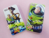 30pcs/lot New Arrival  Toy Story Cartoon Plastic Hard case for iPhone 4 4S,Free Shipping