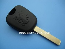 Hot sell Peugeot 307 transponder shell, auto car key blank& key case& key cover(China (Mainland))