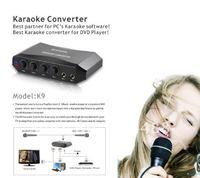 New Online Singing Machine Karaoke Set With Condenser Microphone /Karaoke converter/karaoke mixer