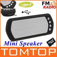 портативный мини-динамик MP3-плеер усилитель микро-SD TF карта USB диск FM-радио диктор компьютера