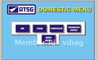 Newly software ATSG (Automatic Transmissions Service Group Repair Information) repair manuals
