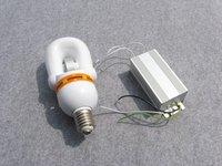 40W 12/24VDC solar street light separate ballast with U shape induction bulb E27/E40 2700K/5000K/6400K more energy than LED