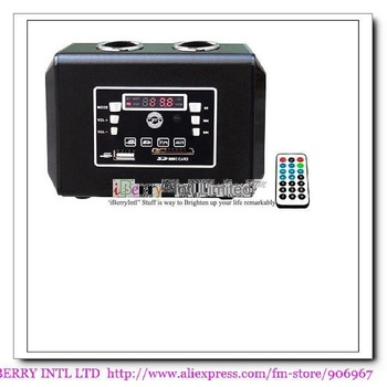 Free Shipping,Stereo Mobile Bluetooth Speaker Mini Sound box Boombox with USB/SD card reader MP3 Player and FM Radio