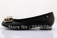 New GG office lady flat shoes women shoes Black size 35-41 sheepskin leather