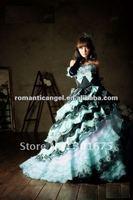 maxi green and black Quinceanera dress