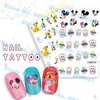 FREESHIPPING   RETAIL Nail Foils Sticker Nail Art Stick Patch Cartoon Series Nail TattooFor Fingernail Desgin & decoration