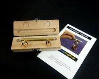 Ghostly linking finger rings magic tricks -2pcs/lot-free shipping magic sets magic toys wholesales