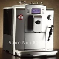 Fully Auto ESPRESSO Coffee Machine +Professional CAPPUCCINO frother+10 languages function+LCD