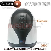 HOME SECURITY MOBILE EYE 3G NETWORK WIRELESS SECURITY D/N CAMERA