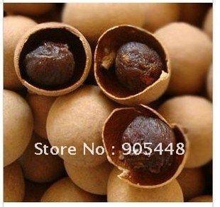 Free Shipping Bulk Dried Longan LongYan Fruit 250g top Grade Thin Shell