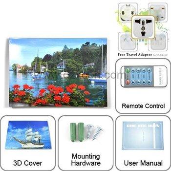 5 bands DZ-101K photo frame blocker for GSM,CDMA,DCS,PHS(3G),3G, WIFI , antennas and power adaptor inside