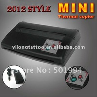 Wholesale Free Shipping  Black The Newest Mini Tattoo Thermal Copier