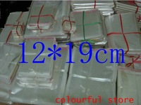Free Shipping! clear plastic bag, packing bag , Adhesive Seal Plastic Pack Bags 5(um) silk 12*19 cm 1000pcs/lot