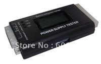 Free shipping PC LCD Power Supply Tester 20/24 Pin PSU ATX SATA HDD#2