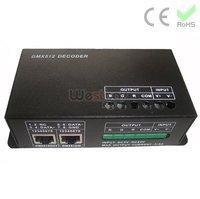 DMX Led Controller, DMX512 decoder,DMX controller, constant voltage DMX decoder ,DC5V,DC12V,DC24V available, Max 432W