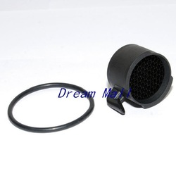 Riflescope Honeycomb Filter Sunshade Fit 56 Zeiss Leatherwood Swarveiski Schmidt & Bender etc KillFlash(China (Mainland))
