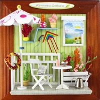 Free shipping Free shipping Diy  Doll house  decorate,photo frame house ,miniature model  accessories