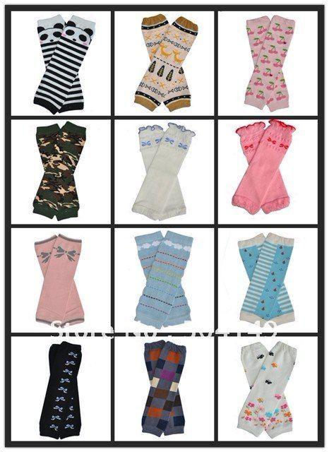 free shipping/mixed items/baby leg warmers/kid leg warmers /children leg warmer 24pairs/lot(China (Mainland))