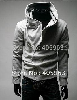 Free shipping High Collar Men's Jacket ,Men's Dust wind  Coat Hoodies Clothes M L XL XXL drop ship