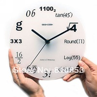 Guaranteed 100% Free shipping  Needle wall clock(1pc),Home new modern interior design Wholesale or Retail