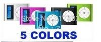 TOP quality !2GB SCREEN MP3 CLIP +FM Radio + build-in 2GB memory clip mini mp3 player with screen Free shipping
