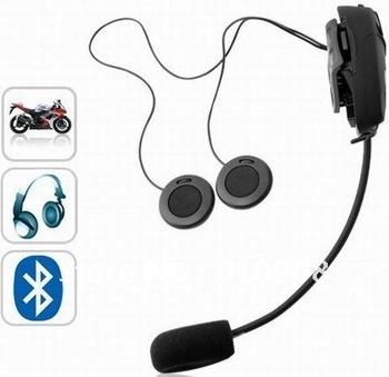 500M Bluetooth Interphone Helmet Headset For Motorcycles