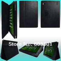 for Acer Iconia Tab A500 case, A500 case stand, for acer A500 case, high quality PU leather material