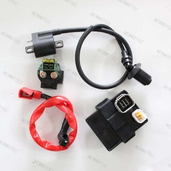 CFMOTO 500cc Genuine Engine Parts New Starter Solenoid Relay+CDI+Ignition Coil(China (Mainland))