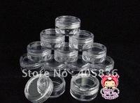 free shipping 100PCS/lot  5G cosmetic jar, empty jar, cream jar cosmetic cream jar, devide container