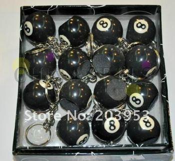 in stock billiard chalk unused 9-ball or 8-ball key chain with tip scuffer CUE shaper billiards scrub accessories hot