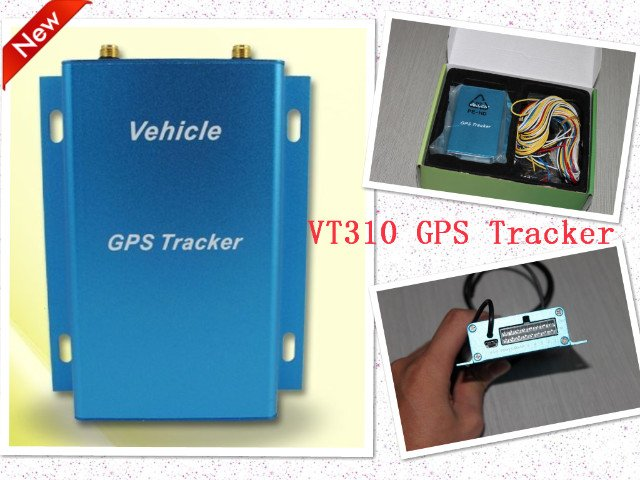 Wholesale Low Price Free Shipping Car GPS Tracker VT310 GPS tracker, AVL, GSM Locator,GPS GPRS Tracking System(China (Mainland))