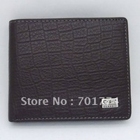 Men's Black Bifold Transverse Genuine Cowhide Real Leather Checkbook Wallet Purse Credit Bank ID Card Slot Wholesale Free Ship