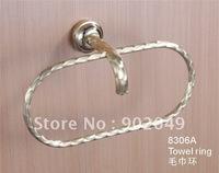 Towel Ring Bathroom Enclosures Oval Roll Towel Hooks KG-8306A