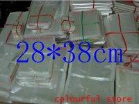 Free Shipping!packaging bag,clear plastic bag, OPP Seal Plastic Pack Bags 5(um) silk 28*38 cm 200pcs/lot