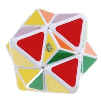 Free shipping LanLan 4-Axis Spike Magic Cube White