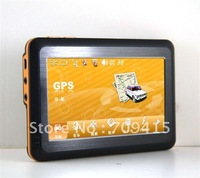 Gps 2012 All in one free map dual core e-book readers 4GB 4.3'' GPS Navigator car navigator  Wholesale!