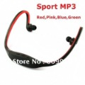 Free shipping,Handsfree Headset Sports MP3 Music Player,TF Card Slot ,Headphone MP3 Player