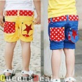 New Big Star Pirate Shorts Children Girl Boy Korea Style Clothing Summer Sport Trousers Wholesale, B107