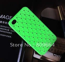 Free Shipping of Gypsophila phone4 cell phone shell phone diamond(China (Mainland))