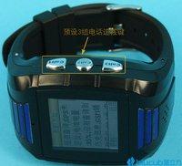 Wholesale NEW model GPS Tracker GSM GPRS GPS cellphone watch tracker for child kid elderly car