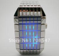 wholesale  fashion intercrew Cheapest LED digital electronic  men Watch  freeshipping