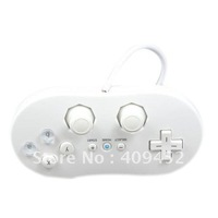 White Classic Controller Remote For Nintendo Wii remote
