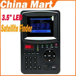 3.5'' TFT LED Digital Satellite Finder Signal Meter TV Monitor(LED) Free Express(China (Mainland))