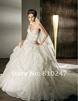 The new fashion boutique Rousha beaded sexy the Bra trailing bride wedding