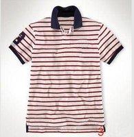 2pcs Wholesale----New arrival newest design man short sleeves T-shirt