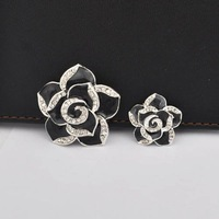 Fashion zion alloy  camellia flower Mobile Phone Beauty Accessory