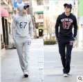 Free shipping New men's sports and leisure suits, fashion movement Jianjuanbi, men's hooded sweater-100
