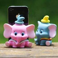 Elephant calf Sucker 2 pcs phone case DIY ACCESSORIES